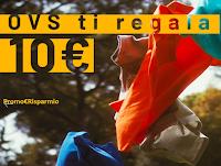 Logo OVS ti regala 10€ di sconto sullo shopping : affrettati ( solo per pochi giorni)