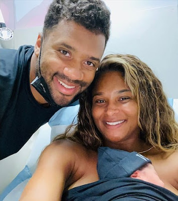Ciara And Husband Russell Wilson Welcome Baby Boy, Name Him Win ...