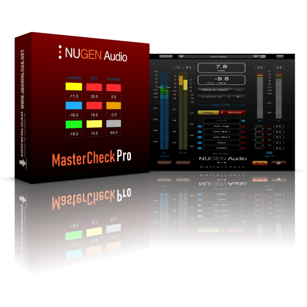 NUGEN Audio MasterCheck Pro v1.7.0.1 Full version
