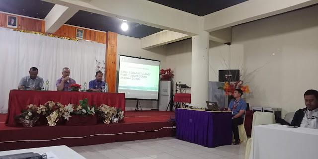 DJSN Hadir Sosialisasi Pentingnya Sistem Jaminan Sosial Nasional di Toraja