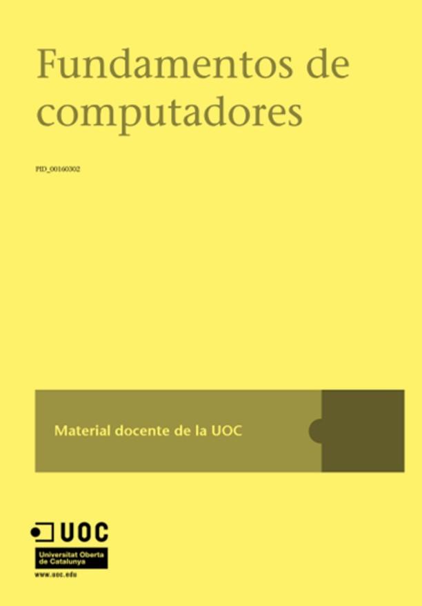 Fundamentos de Computadores – UOC