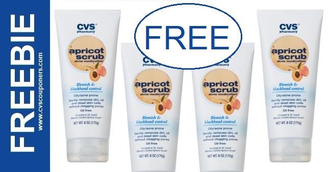 FREE CVS Health Apricot Scrub