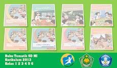 Kumpulan Buku Tematik Kurikulum 2013 SD MI Kelas 1 2 3 4 5 6 Revisi Terbaru
