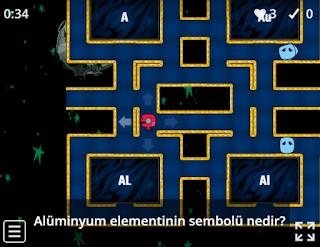 7.Sınıf Elementleri Tanıyalım Oyunu