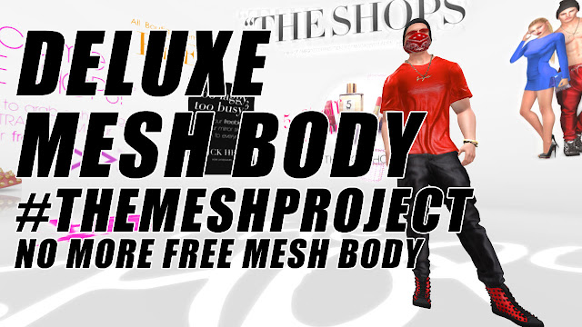 500L$ Deluxe Mesh Body • No More Free Mesh Body #THEMESHPROJECT