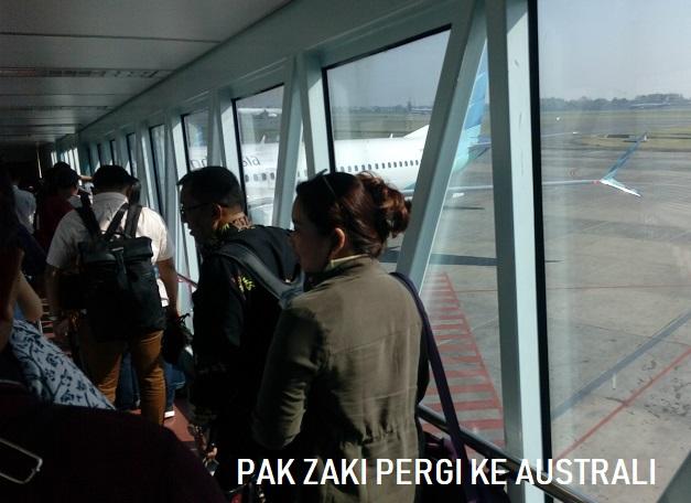 Pak Zaki Pergi Ke Australi