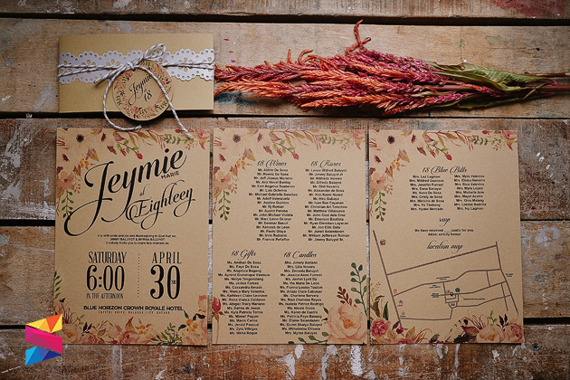 Jeymie Debut Rustic Invitation Stunro CreativeWorks