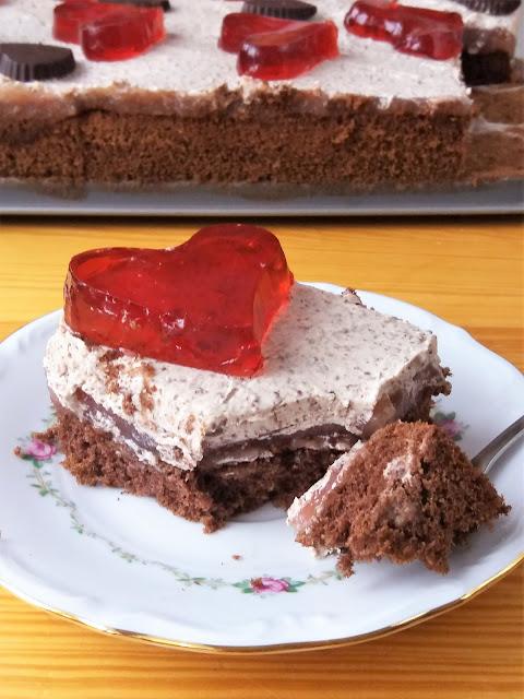Ciasto walentynkowe przepis