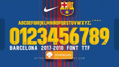 Font Barcelona 2017-2018