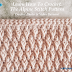 Crochet Tutorial: Learn How To Crochet The Alpine Stitch Pattern Photo & Video Tutorial