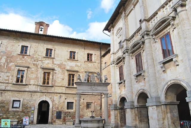 Plaza Grande de Montepulciano en La Toscana