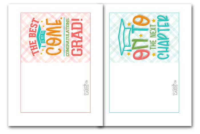 Downloadable Graduation Cards