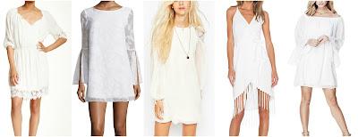 ECI 3/4 Sleeve Lace Trim Boho Dress $30 (reg $148) Belle + Sky Bell-Sleeve Shift Dress $30 (reg $55) ASOS Collection Lace Insert Swing Dress $30 (reg $66) Glamorous Fringe Wrap Dress $47 (reg $94) Guess Bell-Sleeve Babydoll Dress $49 (reg $80)