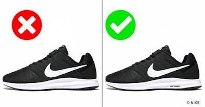 Cara Membedakan Sepatu Branded Asli dan KW