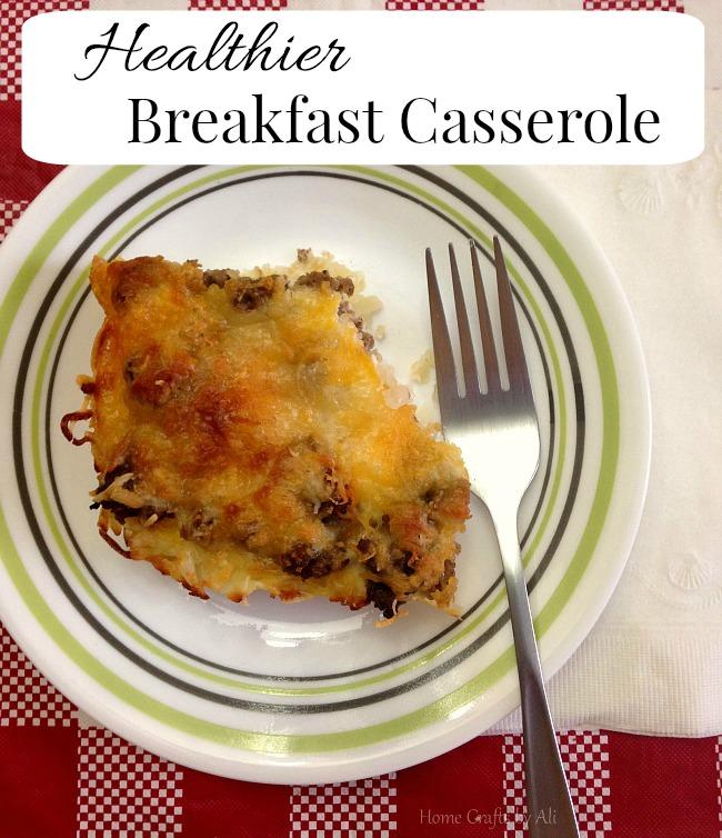 Breakfast Casserole Healthy: Healthier Breakfast Casserole
