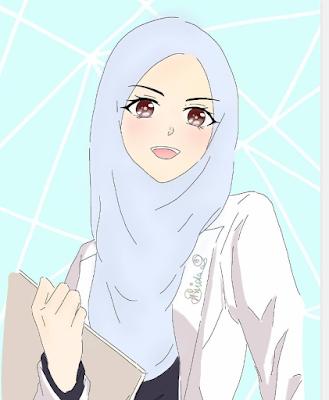 dokter muslimah wanita cantik