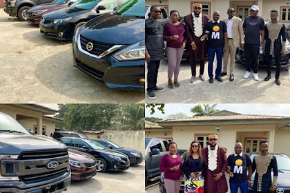 Business Mogul, E Money, Gives Out Cars To His Workers On His Birthday