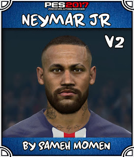 PES 2017 Faces Neymar Jr by Sameh Momen