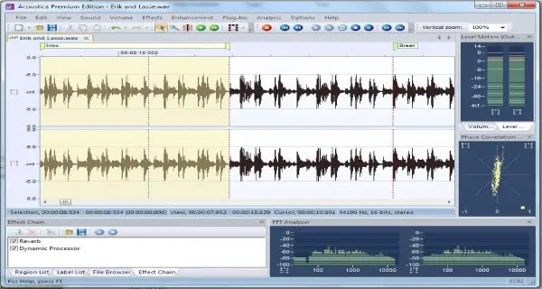 Software edit audio free for pc