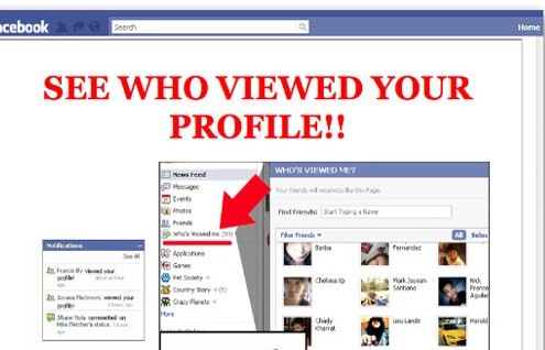 is there a way to see who views your facebook