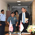 Kasum TNI Receives Honorary Visit from Deputy Assistant Secretary of Defense