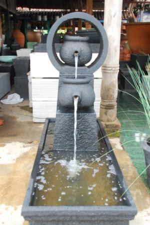 air mancur taman & pot: roda teko