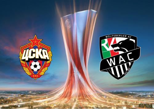 CSKA Moscow vs Wolfsberger AC -Highlights 03 December 2020