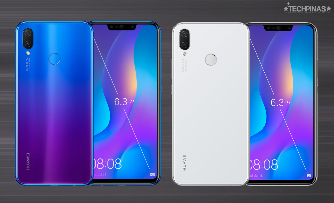 Huawei Nova 3i White Pearl - Espaço-Casa com