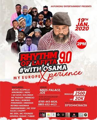 Rhythm of Laffta 9.0 with Osama - January 2020