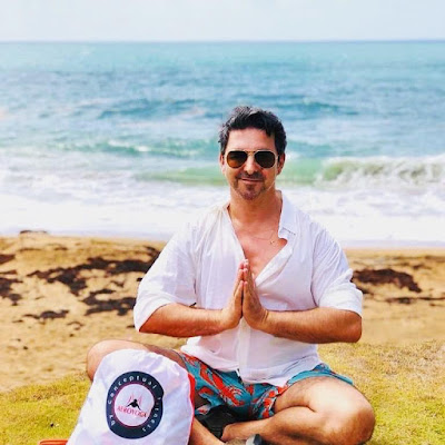 meditación Rafael Martinez mar Caribe