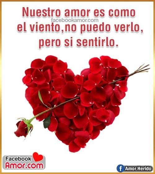 corazón rosa roja