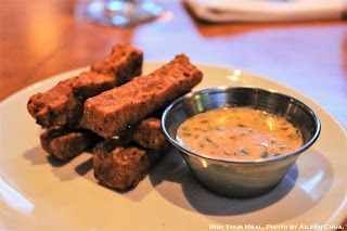 Panise Chickpea Fries at Le Garage