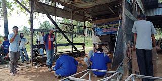 12 Pemuda Paya Beunyot Banda Baro Di Latih Mengelas Meja Mantenan