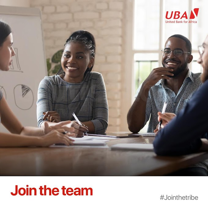UBA is recruiting