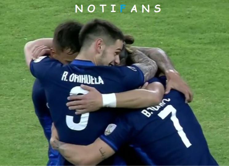 El conjunto uruguayo logró el pase a las siguiente fase tras vencer 1-3 a Estudiantes De Mérida