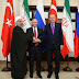 Putin calls on Erdogan, Ruhani for the revival of Syria