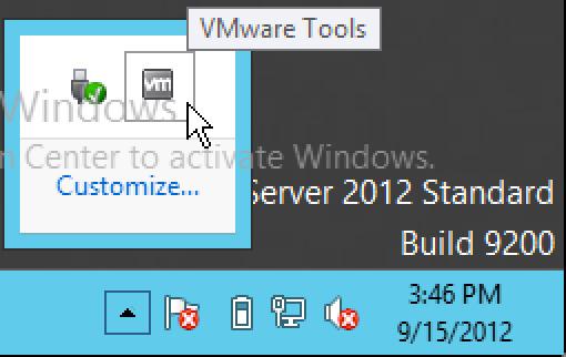 تثبيت أدوات VM