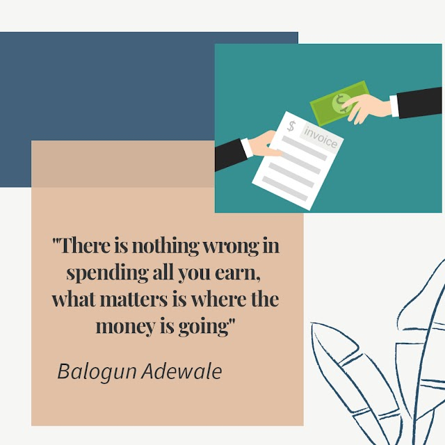 Are You Spending To Learn, Earn Or Lean?