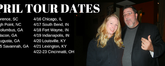 APRIL TOUR DATES!