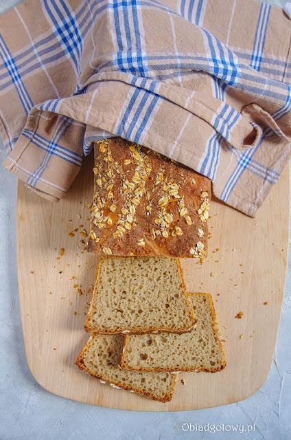 chleb żytni z ziemiakami