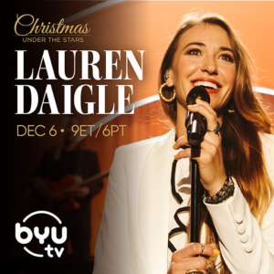 Enjoy the sounds of Christmas with Lauren Daigle