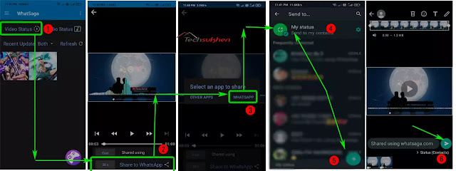 Easiest way on how to upload full video on whatsapp status