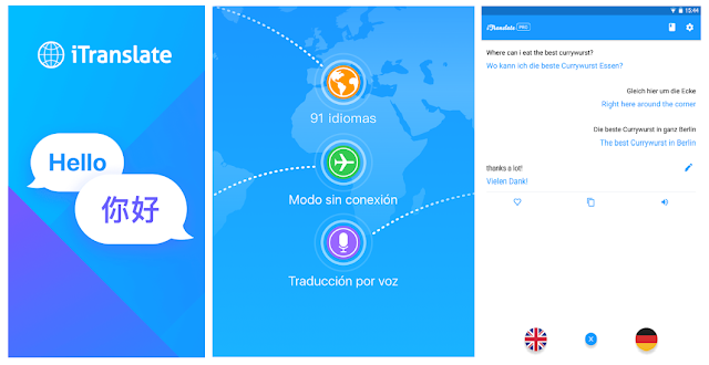 Conoce iTranslate alternativa al traductor de google