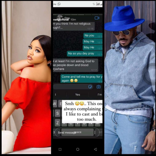Nengi Finally Releases Her WhatsApp Chats With Ozo, See What They Wrote