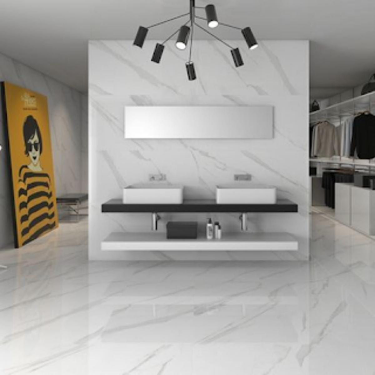 gambar keramik lantai ruang tamu terbaru