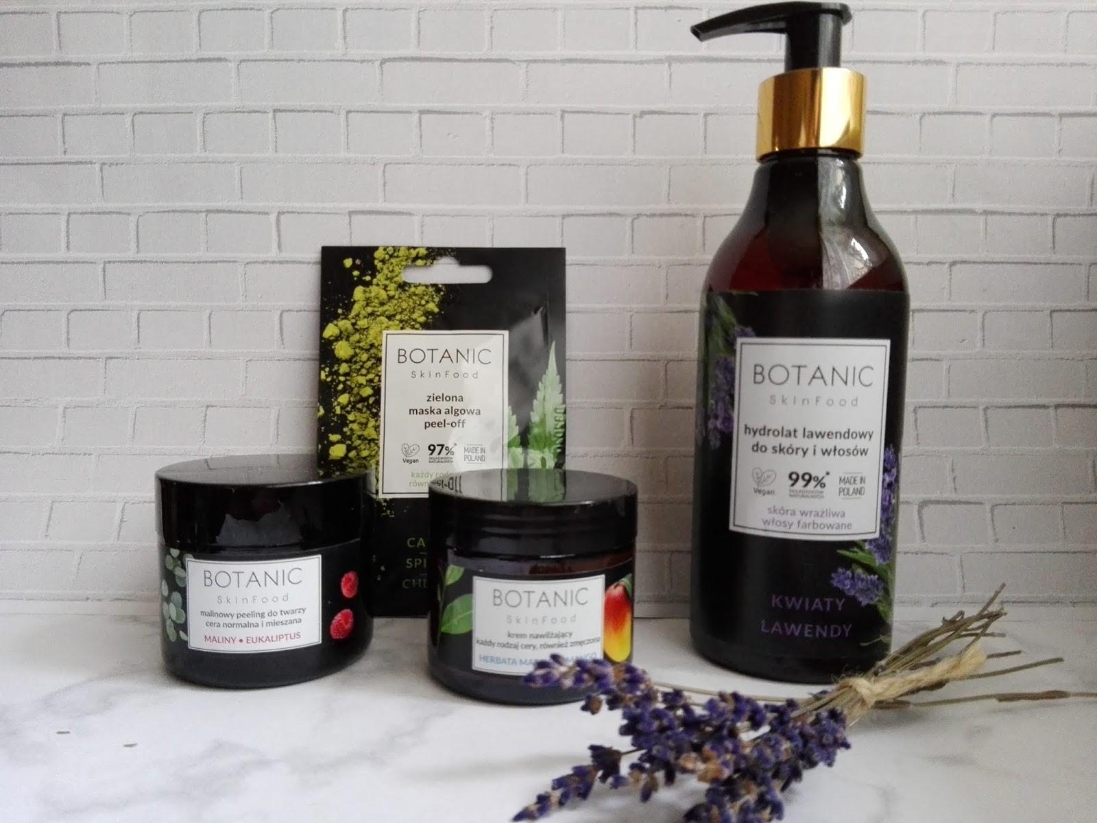 Botanic Skinfood - kosmetyki wegańskie w drogeriach Natura