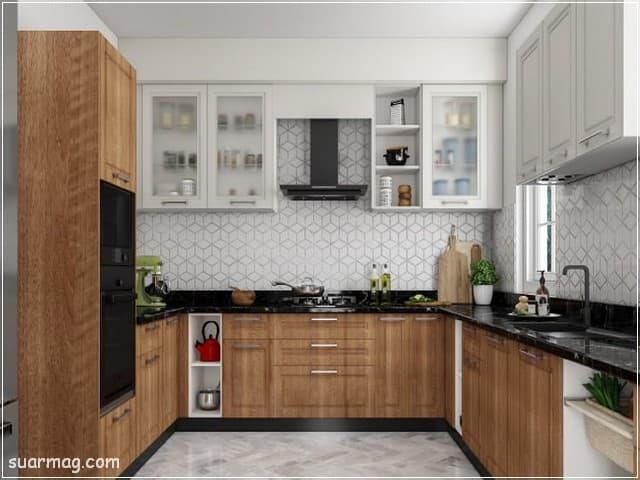 مطابخ خشب 2020 8   Wood Kitchens 2020 8
