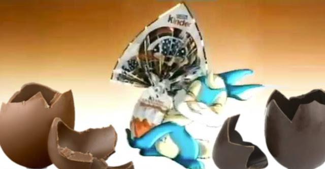 Kinder Gran Sorpresa, dal 1990 le sorprese maxi nelle uova di pasqua di cioccolato