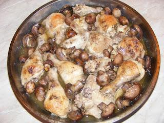 Pui cu ciuperci la cuptor retete culinare,
