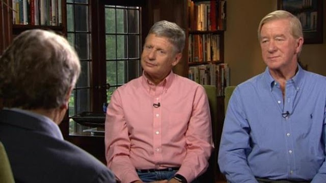 US Libertarian Party presidential candidate Gary Johnson vows to dismantle two-party US system